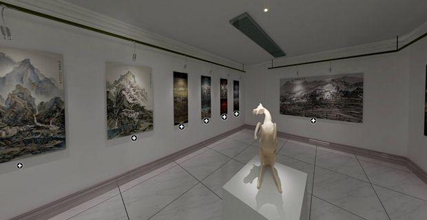 时间机器3D数字虚拟展厅