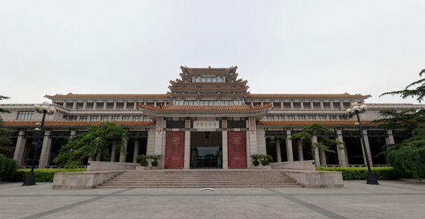 中国美术馆 - 数字美术馆 - 360全景案例 - 时间机器
