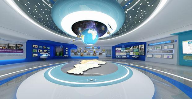 河北省地理信息局成果和地图展